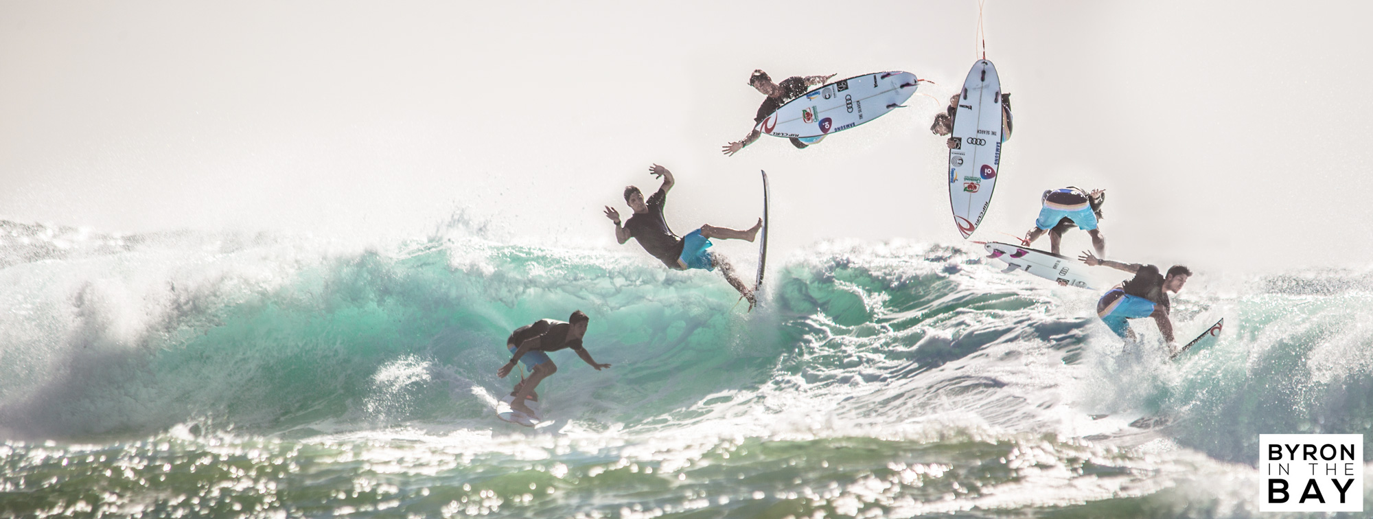Surf in Byron Bay. Photography of Gabriel Medina at Tallow Beach and Broken Head